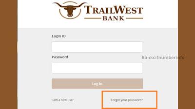 Login into TrailWest Online Banking