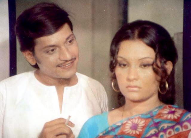 Amol Palekar and Vidya Sinha in Chhoti Si Baat (1976)