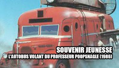 L'autobus volant du professeur Poopsnagle