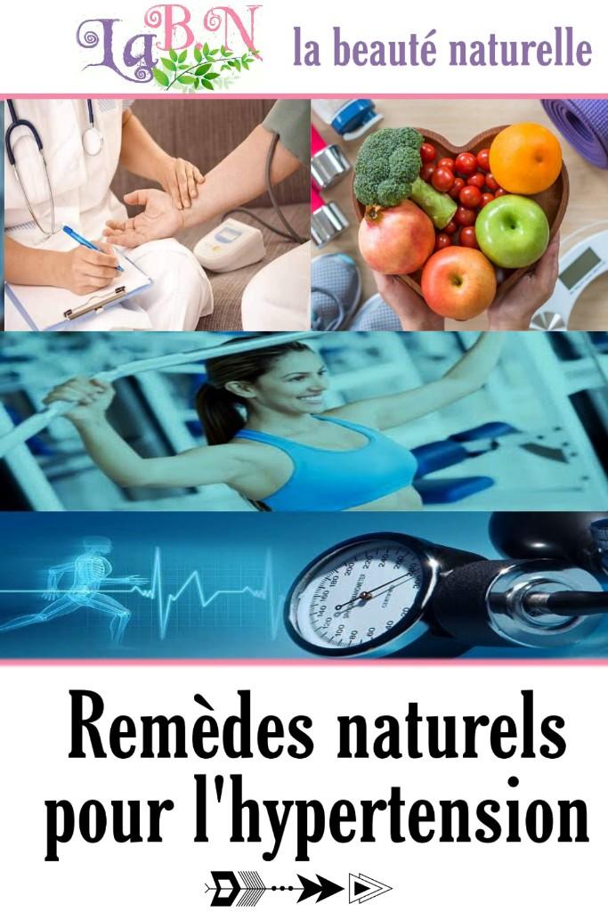 Remèdes naturels pour l'hypertension