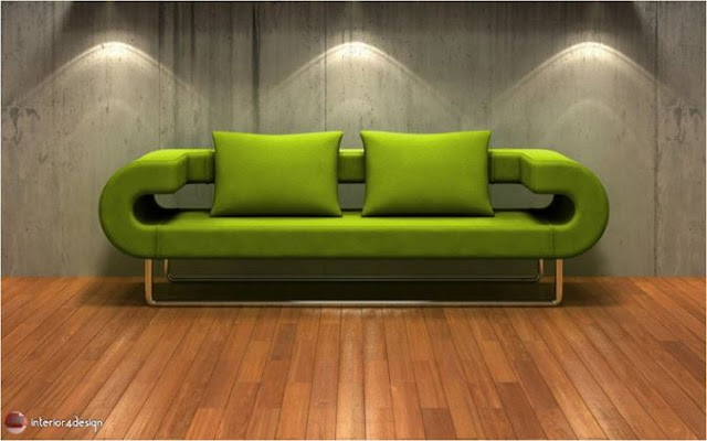 Green Color In Details Of Interior Designs 2
