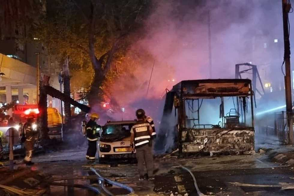 Tel Aviv under the fire of the Palestinian resistance