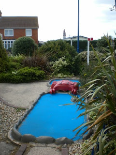 Crazy Golf at The Golden Palm Resort Skegness