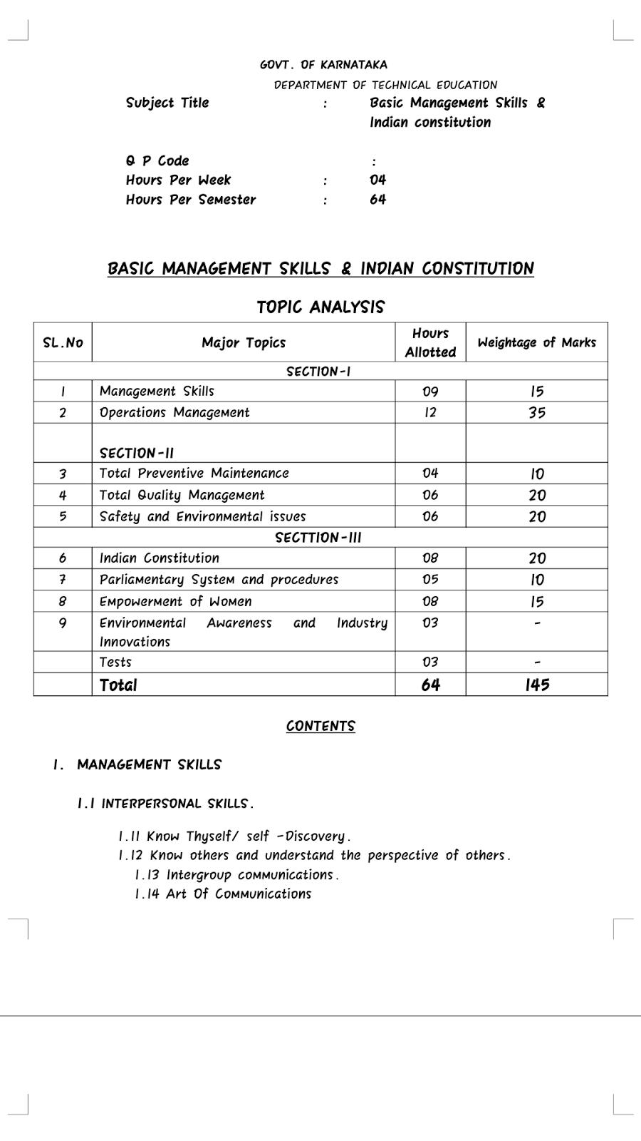 STUDENT SPOT(Diploma In Polytechnic Education -Karnataka): 2017