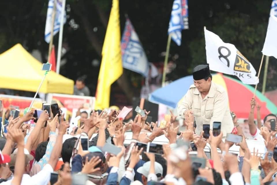 """Jawaban Telak Prabowo Saat Ditanya Warganet Soal """"Elite-Elite Baj*ngan"""""""