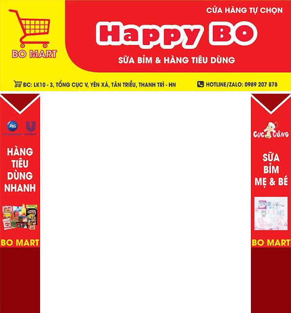 Hoàn thiện công việc setup siêu thị mini tại Thanh Trì Hà Nội