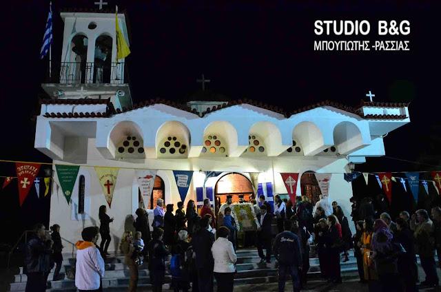 Γιορτάζει ο Ιερός Ναός του Αγίου Νεκταρίου στο Ναύπλιο