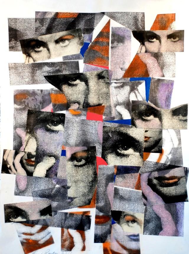 Коллажи и изобразительное искусство. Laurie Raskin 2