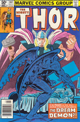 Thor #307, the Dream Demon