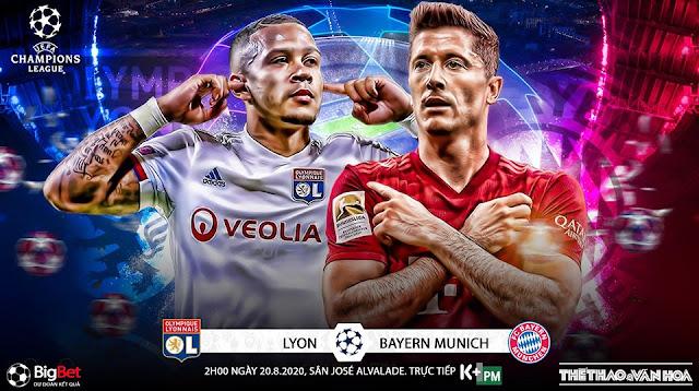 Nhận định – Soi kèo Bayern Munich vs Lyon 2h ngày 20/8/2020