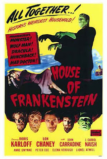 House of Frankenstein (1944) / Poster