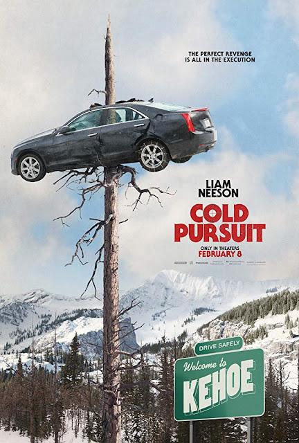 Cold Pursuit 2019 movie poster