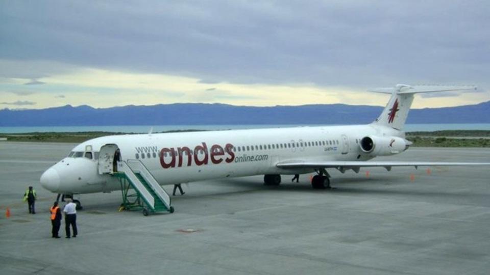 En julio Andes comienza a volar a Ushuaia