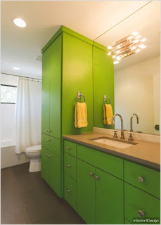 Bathroom design redesigned ideas with color