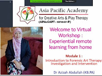 Bengkel Pengenalan Forensic Art Therapy: Investigation And Intervention