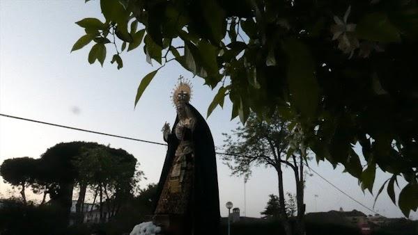 Vídeo del Traslado Hdad de la Clemencia al Colegio Montealto II este Domingo de Ramos en Jerez