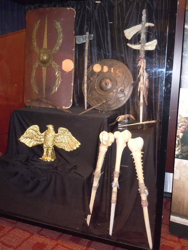 The Eagle movie prop exhibit