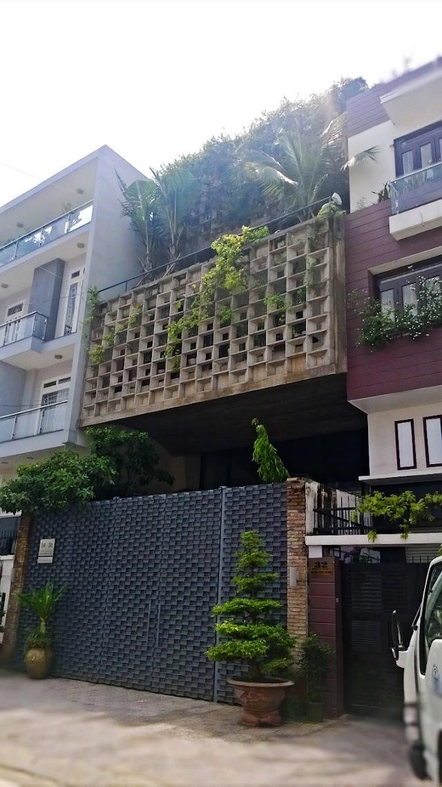 Những mẫu facade độc đáo cho nhà phố.