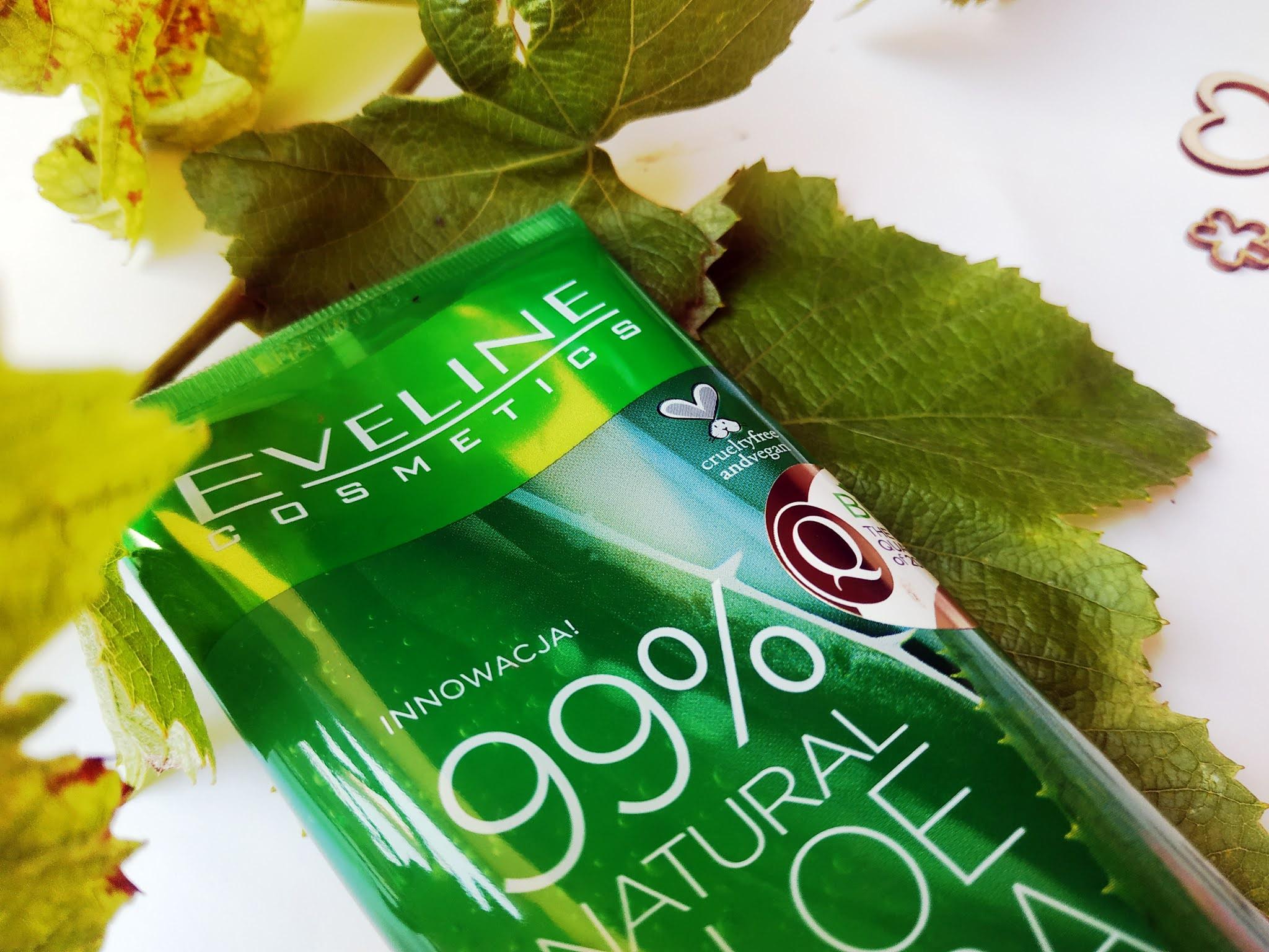 Nowość żel aleosowy od Eveline cosmetics opinia