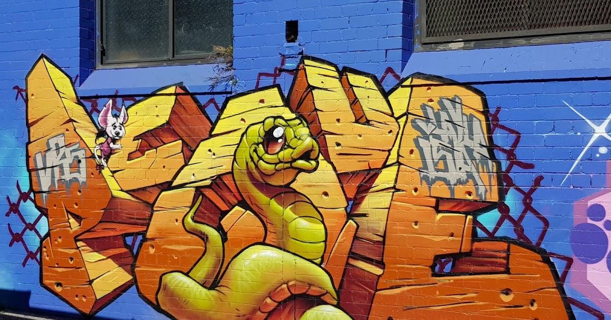 City And Suburbs: Redfern, Graffiti Art