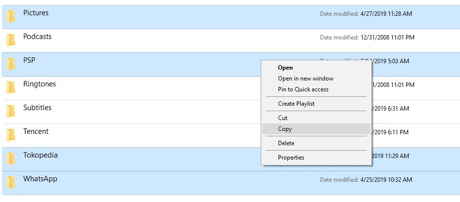 Copy File Internal