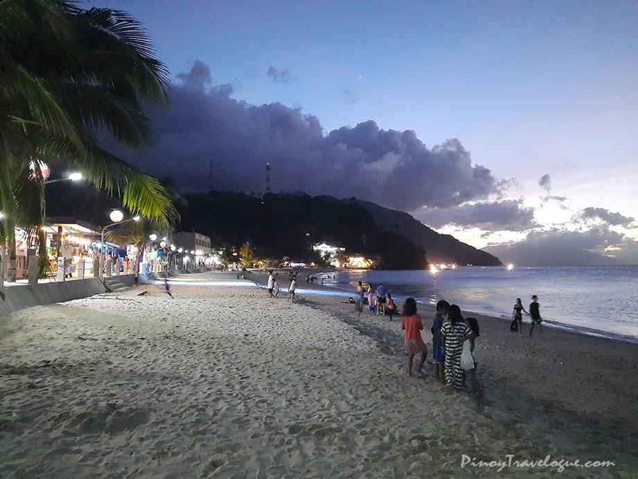 White Beach, Puerto Galera at night