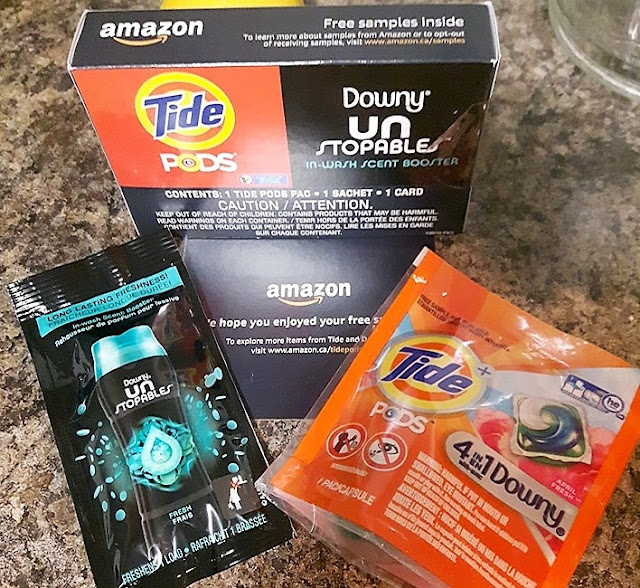 Free sample pack from Amazon.ca
