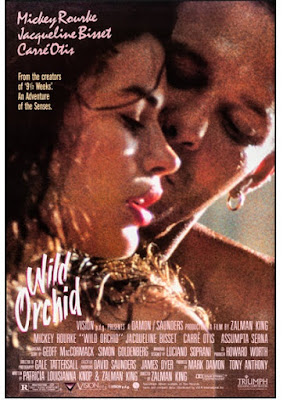 Dzika orchidea film erotyczny plakat