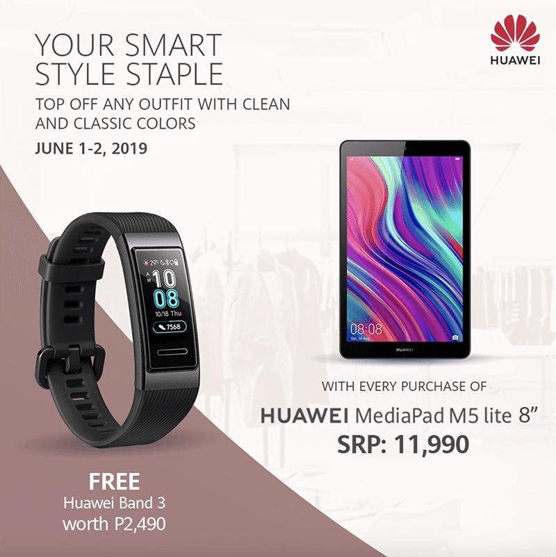 Huawei Band 3 freebie
