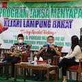 """Jaksa Menyapa dengan Tema """" Tugas dan Fungsi  Kejaksaan Negeri RI Dalam Pengawasan Dana Desa"""