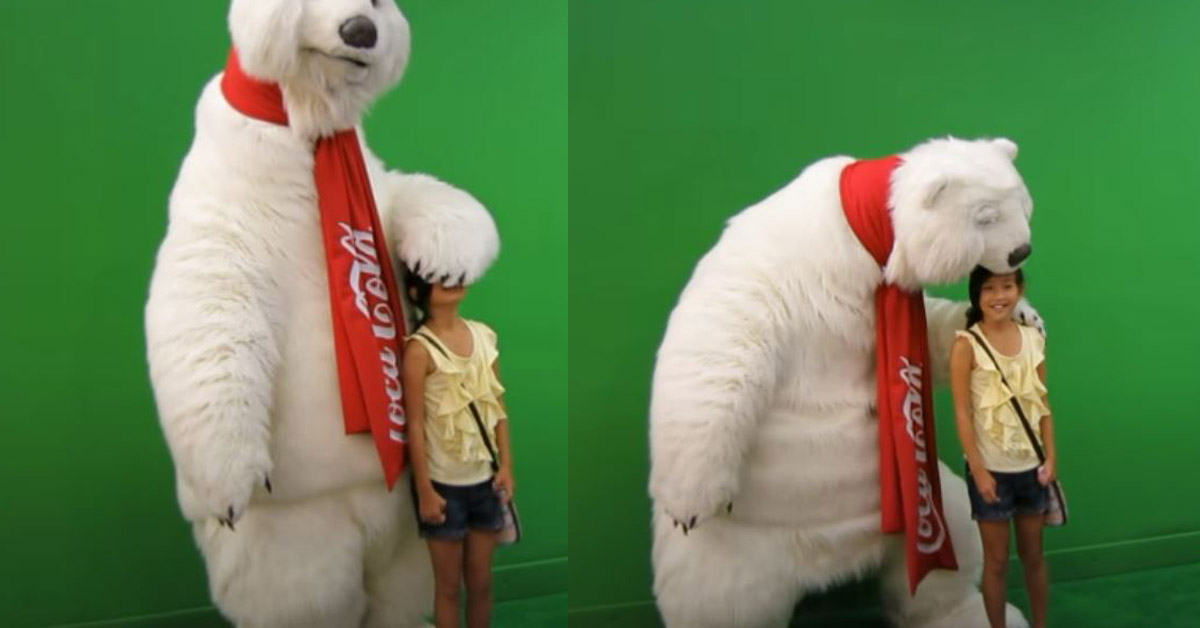 Coca Cola Polar Bear Mascot