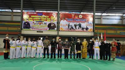 Parosil Mabsus Buka Sirkuit Pencak Silat IPSI Lampung