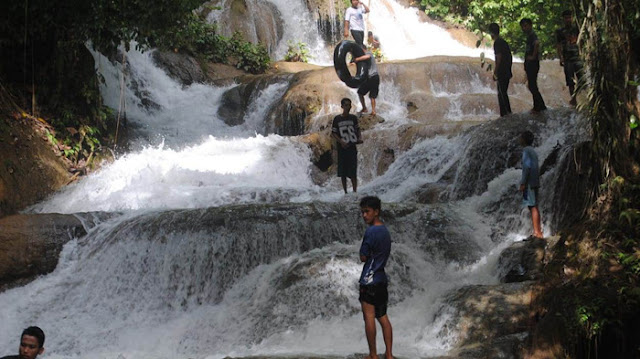 Begini Destinasi Wisata Permandian Salo Mangngoro Luwu Timur