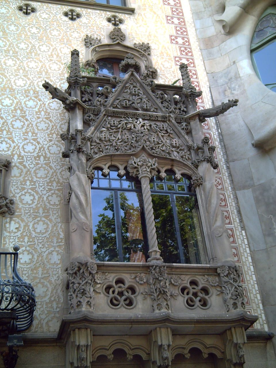 Casa Amatller: Window Detail