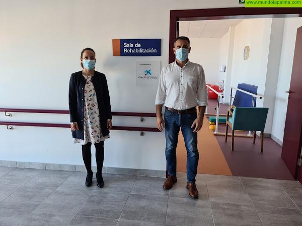 """Fundación """"la Caixa"""" y CaixaBank apoyan el Servicio de Fisioterapia en la Residencia de Mayores de San Andrés y Sauces"""