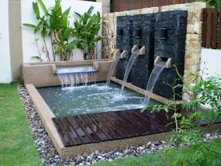 tukang taman dan kolam minimalis
