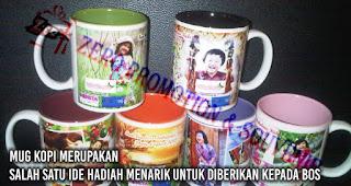 Mug Kopi merupakan salah satu ide hadiah menarik untuk diberikan kepada bos