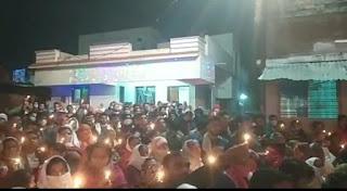 विठ्ठल रुखमिनी मंदिर मे उमड़ी श्रध्दालुओ की फीड