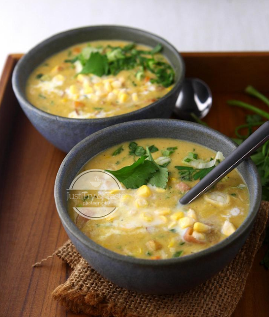 Resep Sup Jagung Creamy JTT