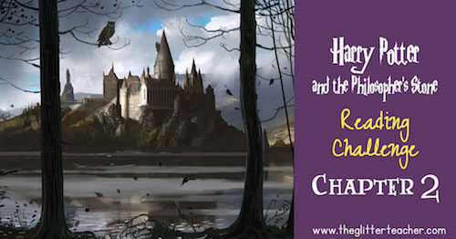 Harry Potter and the Philosopher's Stone Reading challenge online questionnaire. Chapter 2
