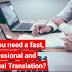 Je fournirai une traduction parfaite de l'anglais vers le français ou du français vers l'anglais