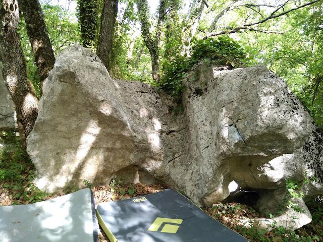 Low traverse at Casteljau