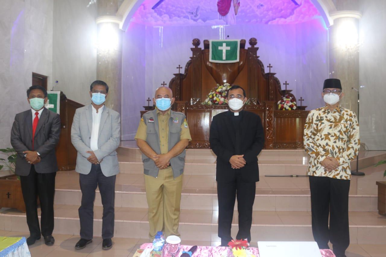 Wali Kota Ajak Gereja Jadi Contoh Baik Penanganan Covid - 19