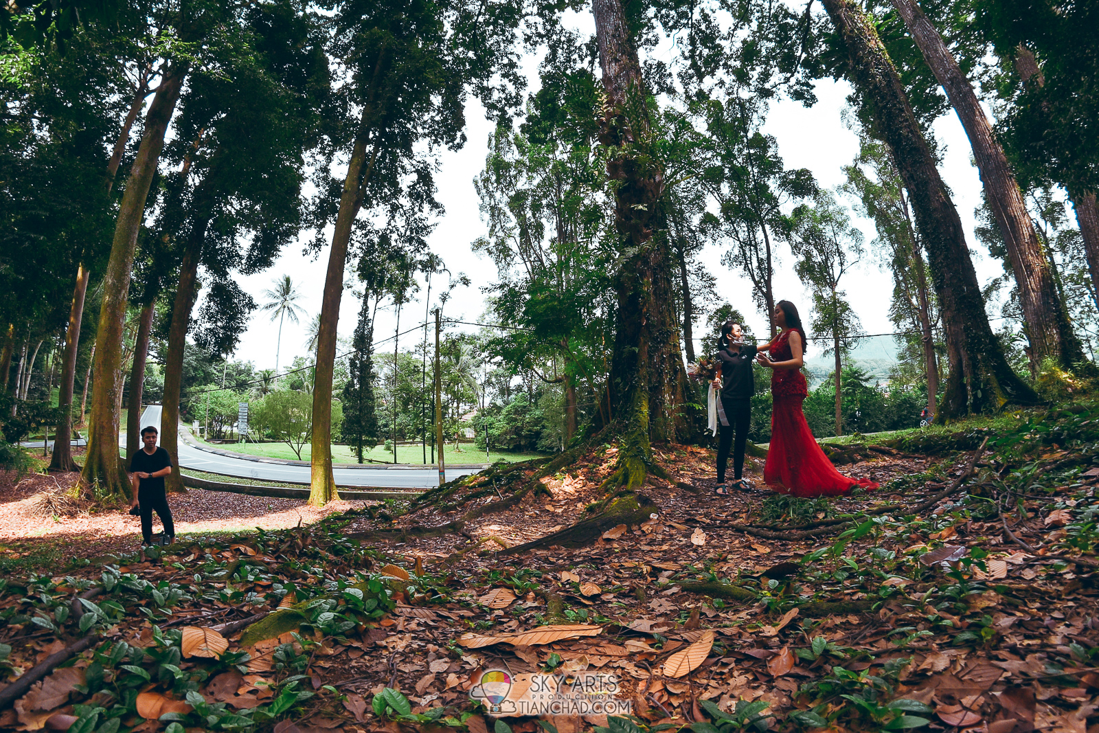 Pre wedding photoshoot at frim kepong lafame bridal studio the third pre wedding shooting location in frim kepong junglespirit Choice Image