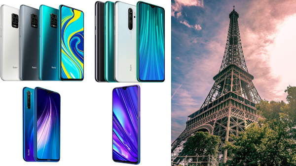 Lista de Smartphones vindos do armazém francês da Gearbest