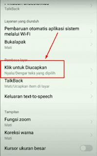 Cara Menonaktifkan Google Text to Speech di HP Vivo