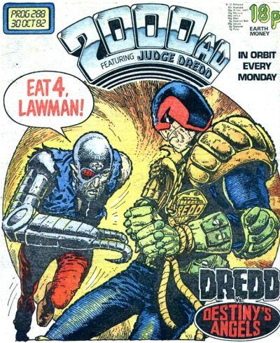 2000 AD Prog 288, Judge Dredd