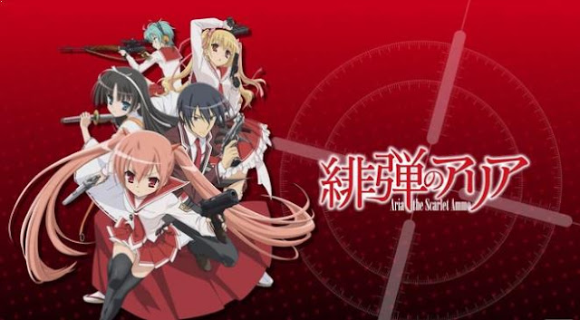 Aria the Scarlet Ammo (Hidan no Aria) - Best Anime Like Assasination Classroom (Ansatsu Kyouhitsu)