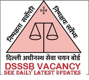 Delhi DSSSB Personal Assistant Online Form 2021