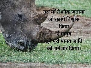 Hindi Poem on Elephant Incident in Kerala,hindi poem, Elephant Incident Poem